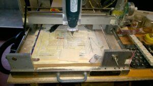 CNC al lavoro